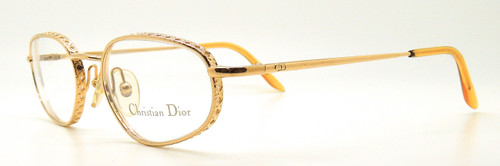 Christian Dior Classic Vintage Glasses 3519 Gold from The Old Glasses Shop Ltd