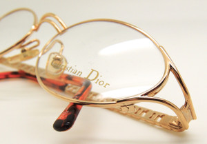 Christian Dior 2029 womens vintage glasses frames