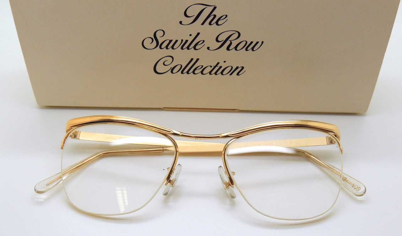 174deec5ea2b Savile Row Gold Half Rims | Buy Savile Row Eyewear | Original NHS ...