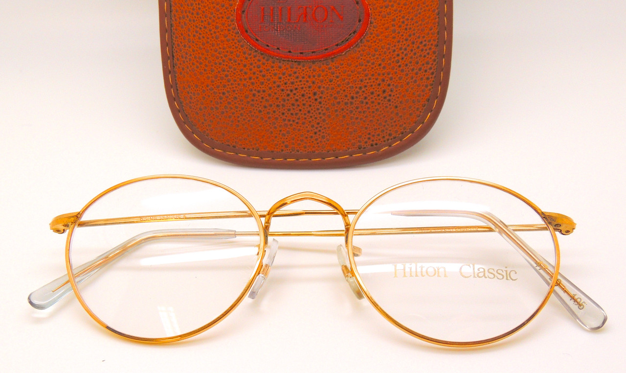 27d7da9c83 HILTON CLASSIC 5 by Savile Row Shallow Panto Frames 14kt Rolled Gold Glasses