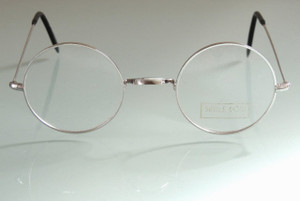 John Lennon style Round Handmade in London Original Savile Row Glasses