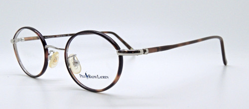 Vintage 455 Ralph Lauren Polo Silver Eyeglasses With Tortoiseshell Rims from www.theoldglassesshop.co.uk