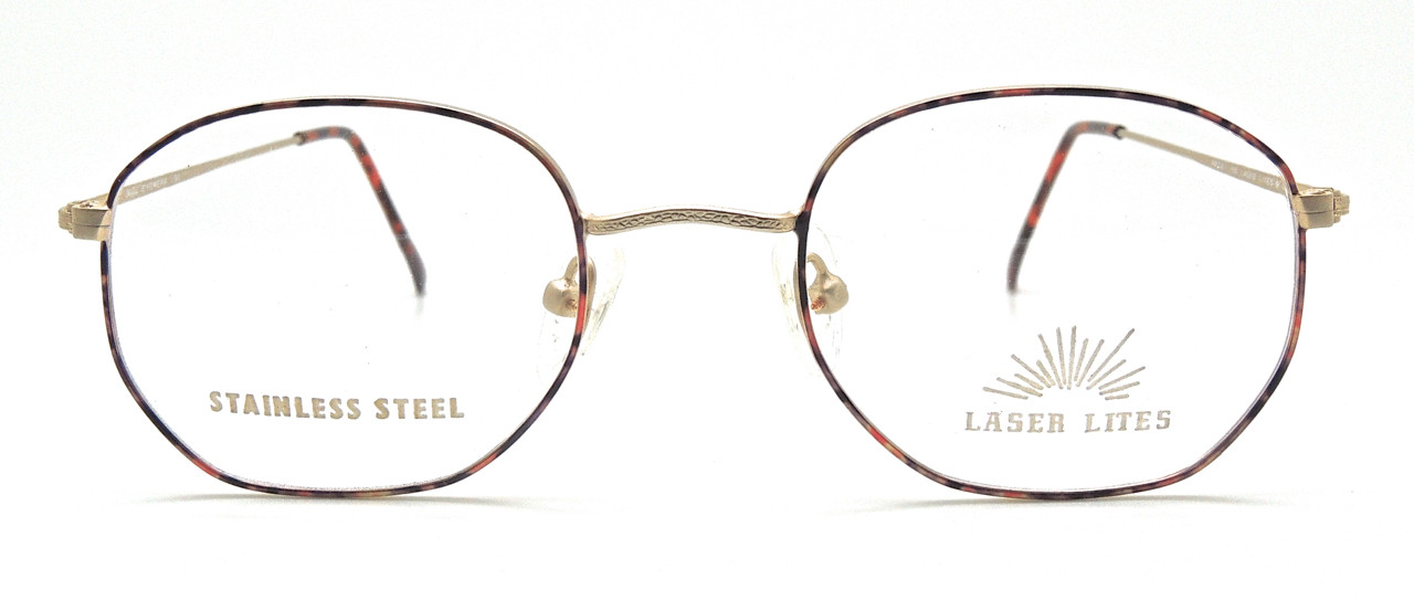 21b1e9906197 LASER LITES 9 Stainless Steel Gold and Multi-Colour Frames. Loading zoom.  Gold and multi coloured frame by Welling Eyewear