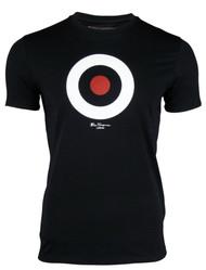 Ben Sherman Black Target T-shirt