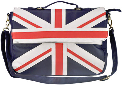 Union Jack Satchel Bag