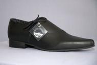 Underground Side Lace Winklepicker Shoe
