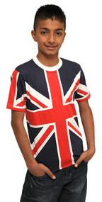 Kids Union Jack T-shirt