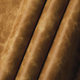 Antique Tan American Buffalo leather (Bison leather) sides