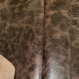 Antique Mocha - Buffalo Leather Sides