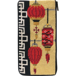 Chinese Lanterns Eyeglass Case