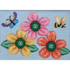 Flowers-Butterfly-Bee