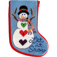 Let It Snow Mini Stocking