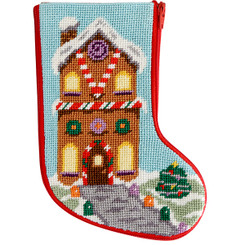 Gingerbread House Mini Stocking