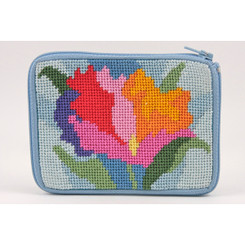 Watercolor Poppy Coin Purse
