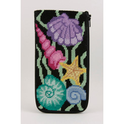 Sea Shells Eyeglass Case