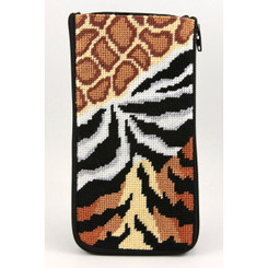 Animal Skins Eyeglass Case