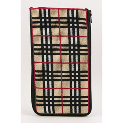 Plaid Eyeglass Case