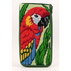 Parrot Eyeglass Case