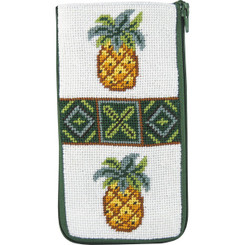 Pineapples Eyeglass Case