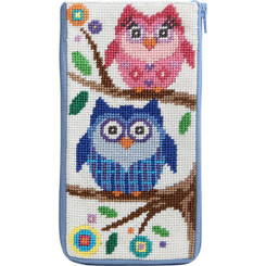 Owls Eyeglass Case