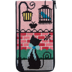 Kitty Kat Eyeglass Case