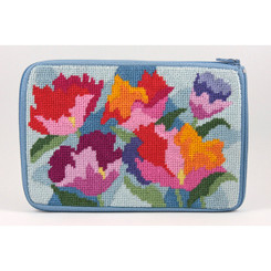 Watercolor Poppies Purse