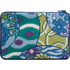 Imari Abstract Purse