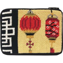 Chinese Lanterns Coin Purse