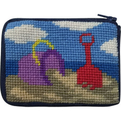 Beach Play Kids Coin Purse