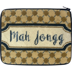 Mah Jongg Polka Dots Case