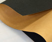 "Black Polyester, Adhesive-Backed, 1mm (.039"") Thick x 60"" Wide, Medium Density"
