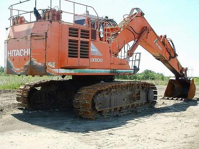1997 Hitachi EX1100 3 Excavator