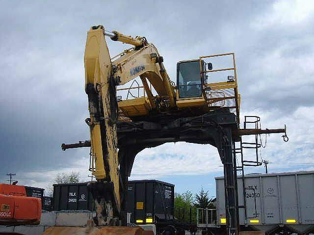 Texas Car Inspection >> Railcar unloader for sale | PC300 HD-7L | used Komatsu | Dallas Texas