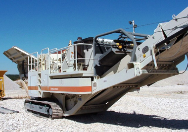 2005 Metso LT1213 Lokotrack Crawler Impact Crusher