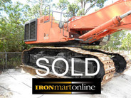 2006 Hitachi ZX800 Long Reach Excavator used for sale