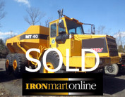 1999 Moxy MT40 B Articulated Dump used for sale