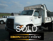 Ford F800 Single Axle Dump used for sale