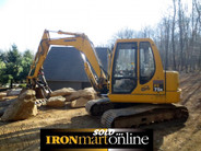 Komatsu PC75R-2 Excavator, in very good condition.
