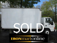 Isuzu NPR 14 Foot Box Truck used for sale