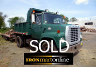 Ford F-7000 Single Axle Dump Truck used for sale