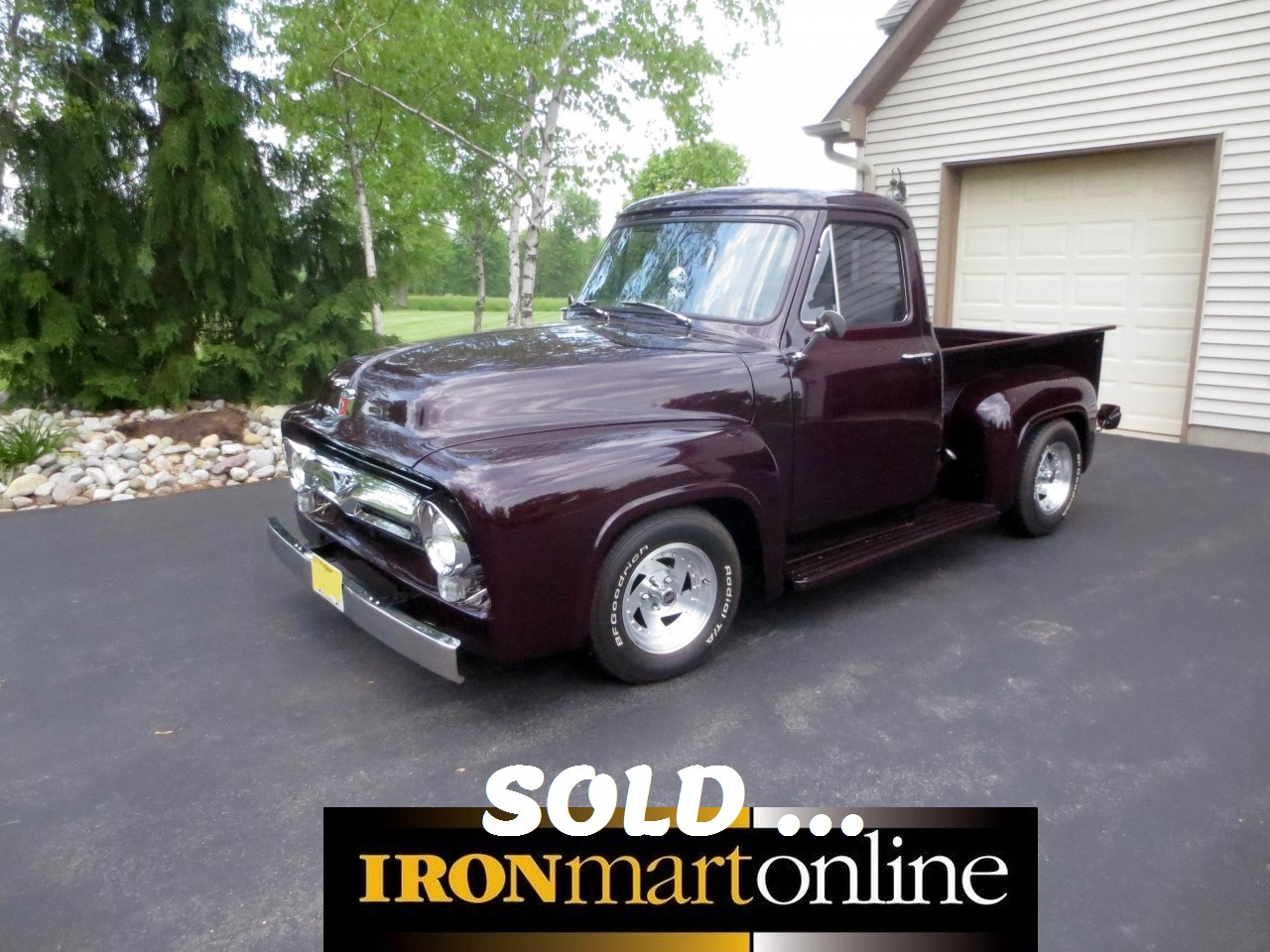 Classic 1954 ford f 100 pickup truck used for sale