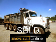 International 5500i Tri Axle Dump used for sale