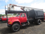 1995 Ford F800 Super Duty Boom Chip Truck used for sale