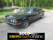 1993 BMW 740i, in very good condition.