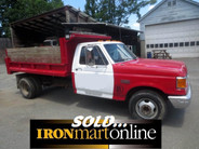1989 Ford F-350 Mason Dump Truck, it's mechanically sound, runs and drives great.