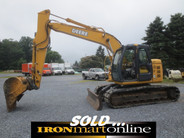 John Deere 135C RTS Excavator, in very good condition.