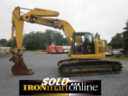 Komatsu PC228UU-1 Excavator, in very good condition.