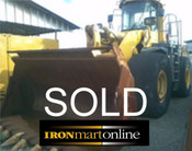 2005 Komatsu Wheel Loader WA600-3 used for sale