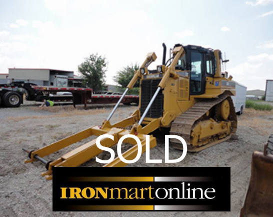 CAT D6R XL III with Bron Vibratory Cable Plow used for sale