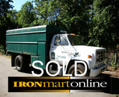 1988 GMC 7000 Dump Body Chip Box Truck used for sale